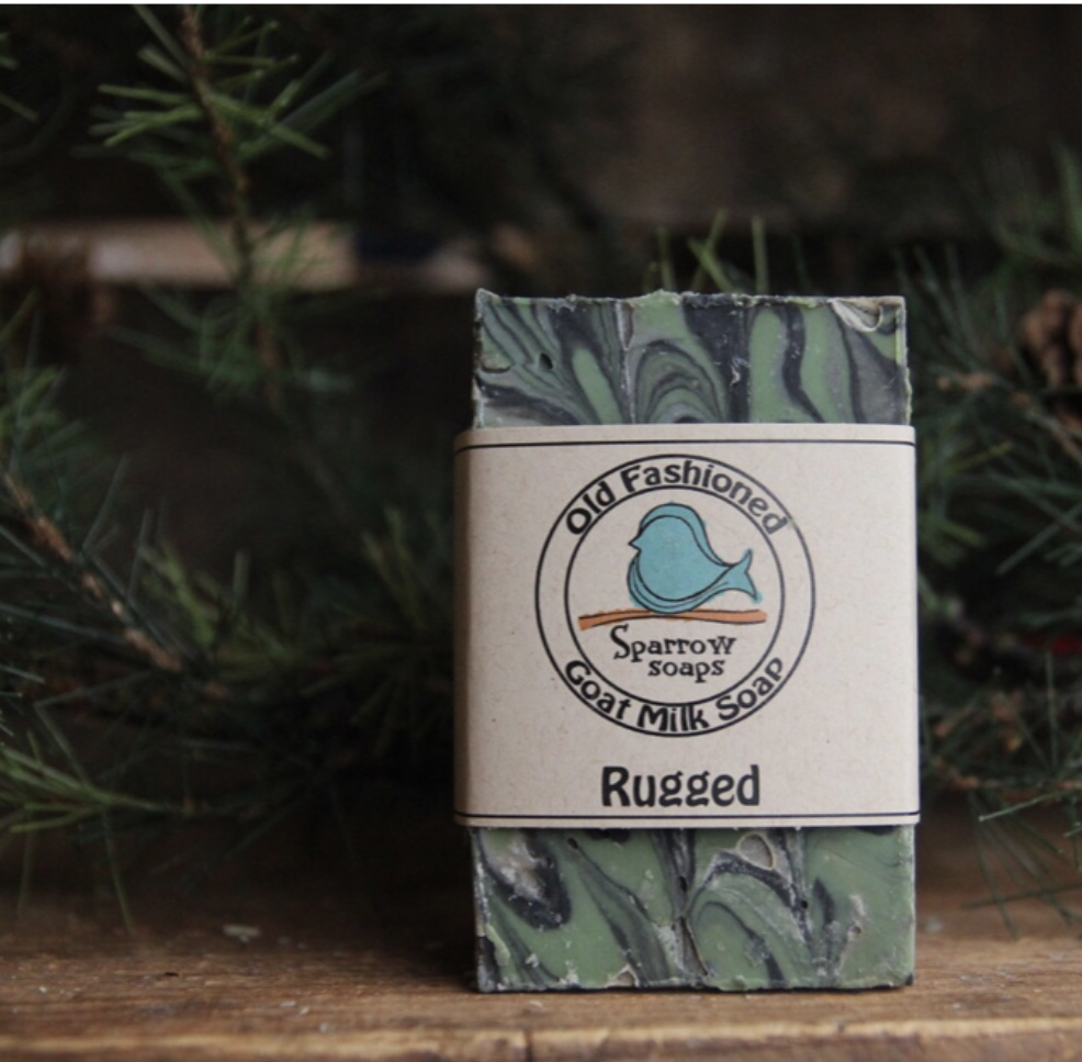 Father's  Day gift ideas for Christian dads:  Sparrow Soaps Men's Collection