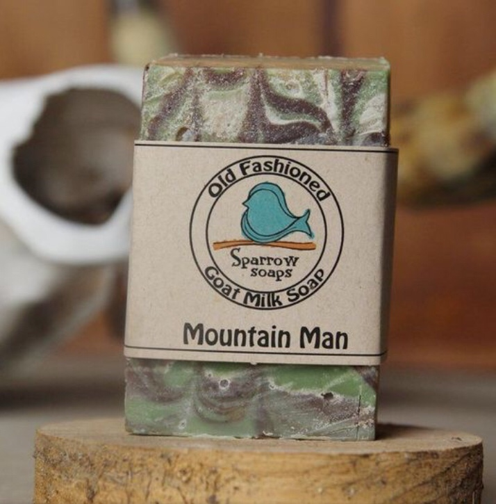 Father's Day gift idea for Christian dads: Sparrow Soaps  Men's Collection